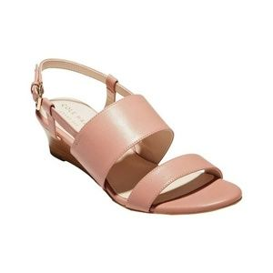 Cole Haan Annabel Grand Wedge Slingback Sandals 10